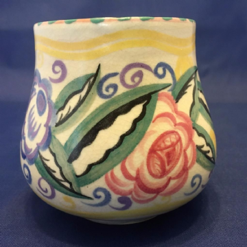 Carter Stabler Adams, Early Poole, ZI Ptrn, Red Clay,1924-34 Vase, Dorothy James